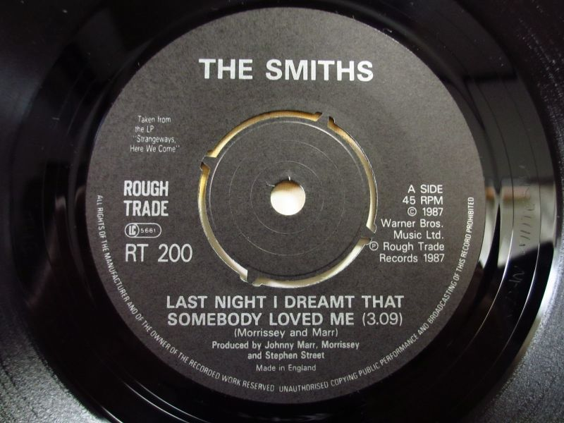 Last Night I Dreamed Somebody Loved Me