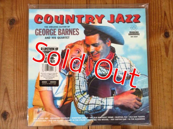 画像1: スイングギターの名手ジョージバーンズのカントリーとジャズを融合した名作!■George Barnes Quartet / Country Jazz (1)