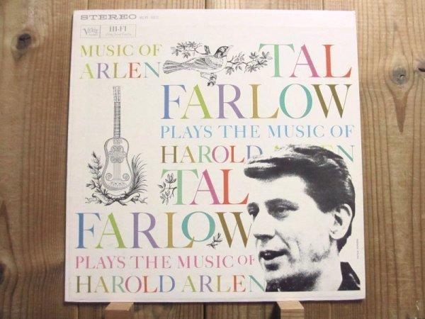 画像1: Tal Farlow / Tal Farlow Plays The Music Of Harold Arlen (1)