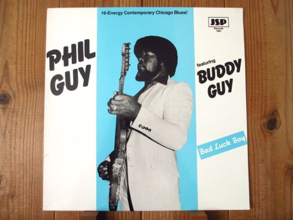画像1: Phil Guy Featuring Buddy Guy / Bad Luck Boy (1)
