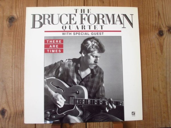 画像1: Bruce Forman Quartet / There Are Times (1)