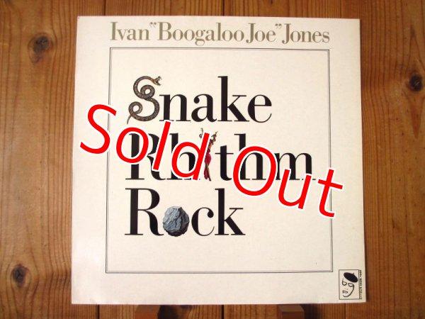 画像1: Ivan Boogaloo Joe Jones / Snake Rhythm Rock (1)