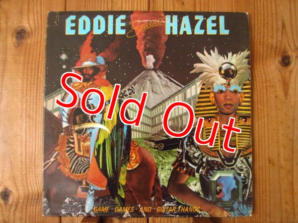 画像1: Eddie Hazel / Game, Dames And Guitar Thangs (1)