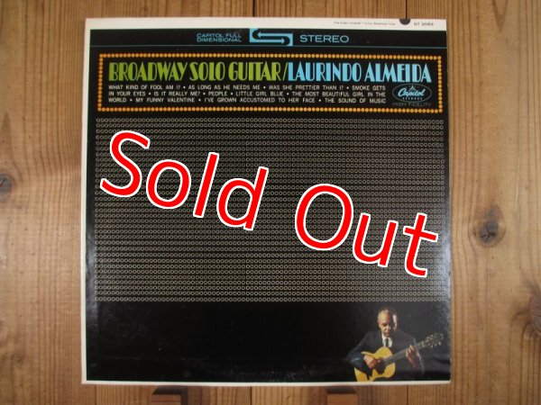 画像1: Laurindo Almeida / Broadway Solo Guitar (1)