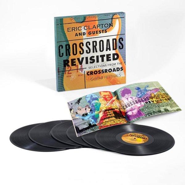画像1: 再入荷!エリッククラプトンが主宰する「クロスロードギターフェスティヴァル」の数々の名演奏の中から厳選されたベストライヴパフォーマンスばかりを収録した6枚組アナログ盤が入荷!■Eric Clapton And Guests / Crossroads Revisited Selections From The Crossroads Guitar Festivals (1)