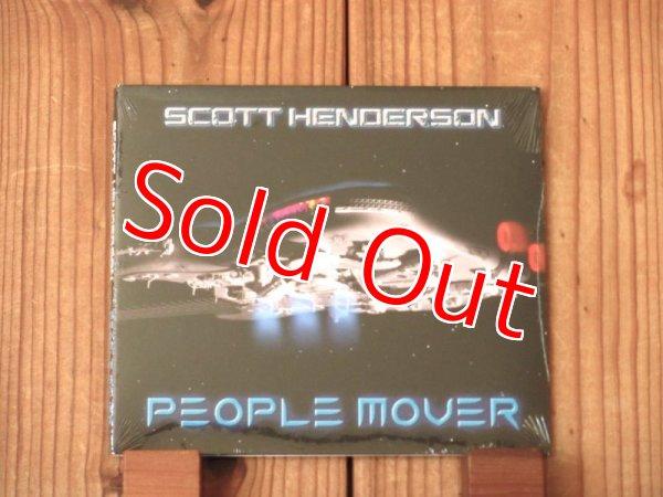 画像1: テクニカル系最高峰ギタリスト、スコットヘンダーソンの2019年作品!■Scott Henderson / People Mover (1)