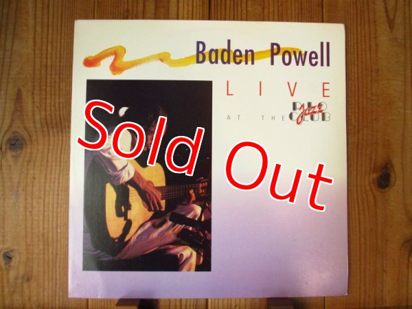 画像1:  Baden Powell / Live At The Rio Jazz Club  (1)