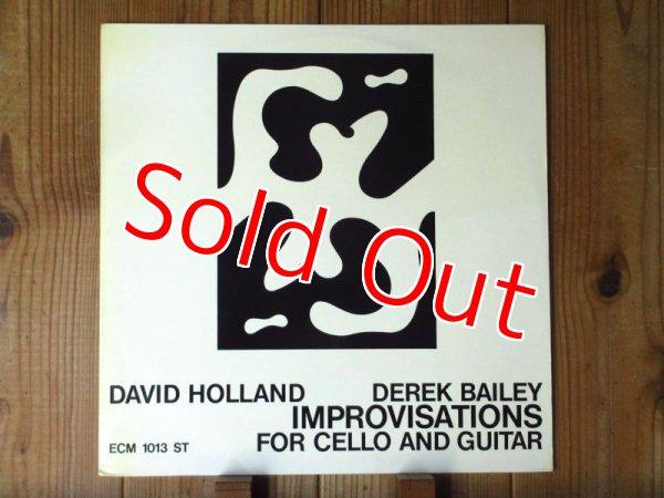 画像1: Derek Bailey - David Holland / Improvisations for Cello and Guitar (1)