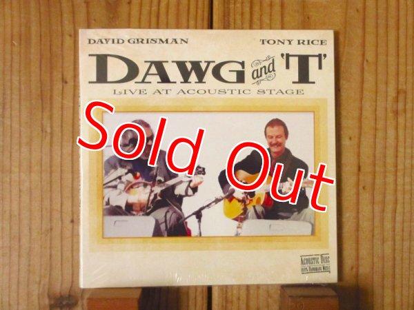 画像1: David Grisman & Tony Rice / Dawg and T: Live at Acoustic Stag (1)