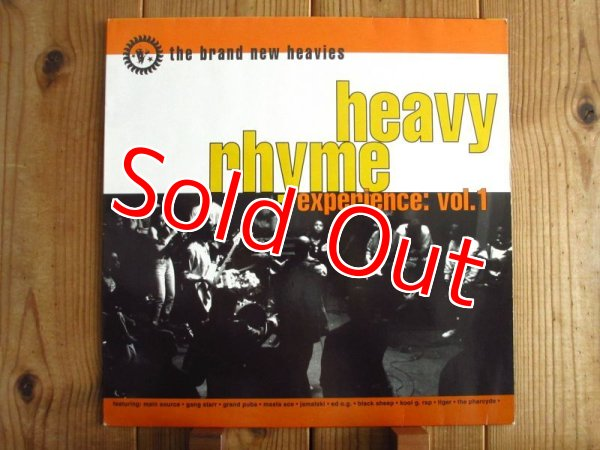 画像1: The Brand New Heavies / Heavy Rhyme Experience: Vol. 1 (1)