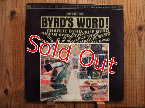 画像1: Charlie Byrd / Byrd's Word (1)