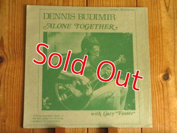 画像1: Dennis Budimir / Alone Together (1)