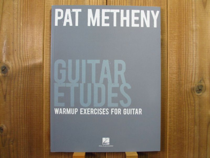pat metheny guitar etudes 著者 pat metheny guitar records