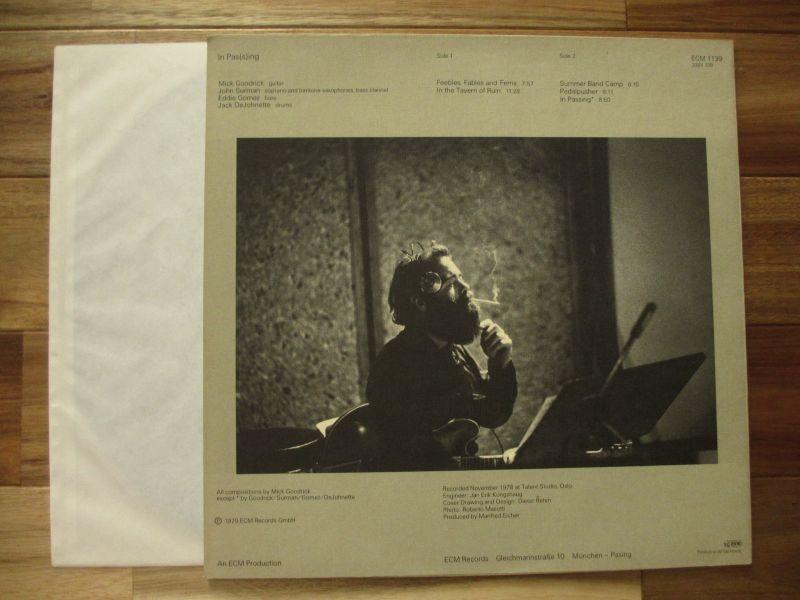 Mick Goodrick / In Pa(s)sing - Guitar Records